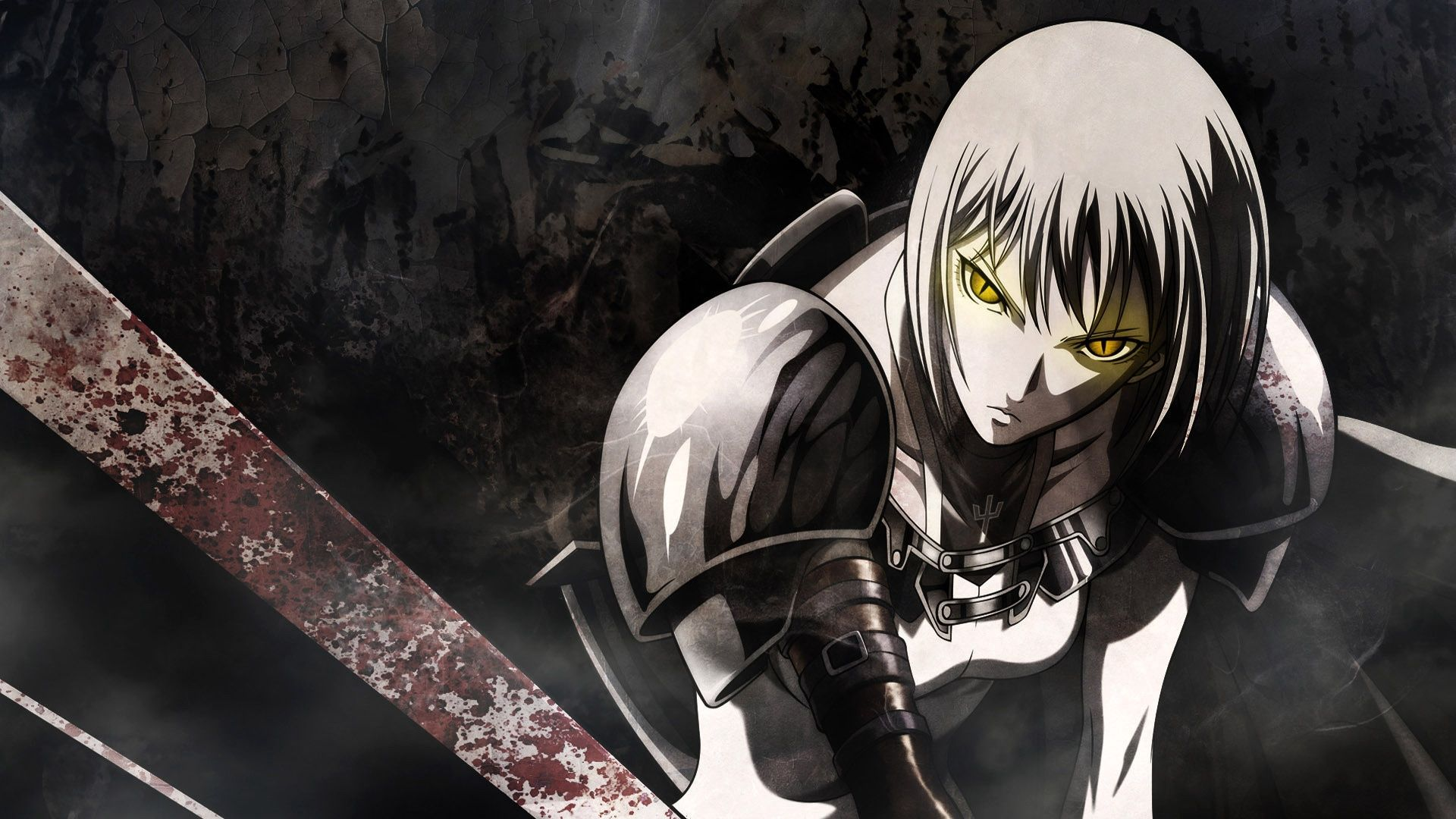 Download Wallpaper Anime Action Hd Download Wallpaper 1920x1080 Anime Sword Warrior Look 55 Pc Anime Wallpapers Downlo Good Anime Series Anime Clare Claymore Action anime wallpaper free download