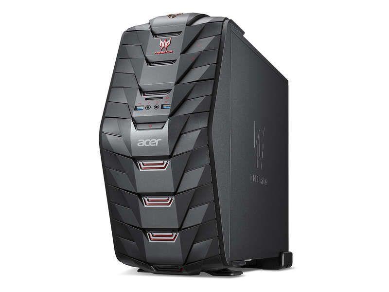 Pc Bureau Acer Predator G3 710 Ordinateur De Bureau Conforama