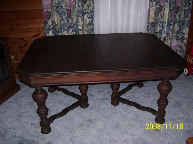 Antique Dining Room Sets For Sale