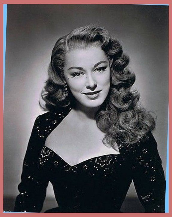 40s Hairstyles On Pinterest 1940s 1940s Hairstyles And 1940s Hair In 1940  Hairstyles For Long Hair (574×724)
