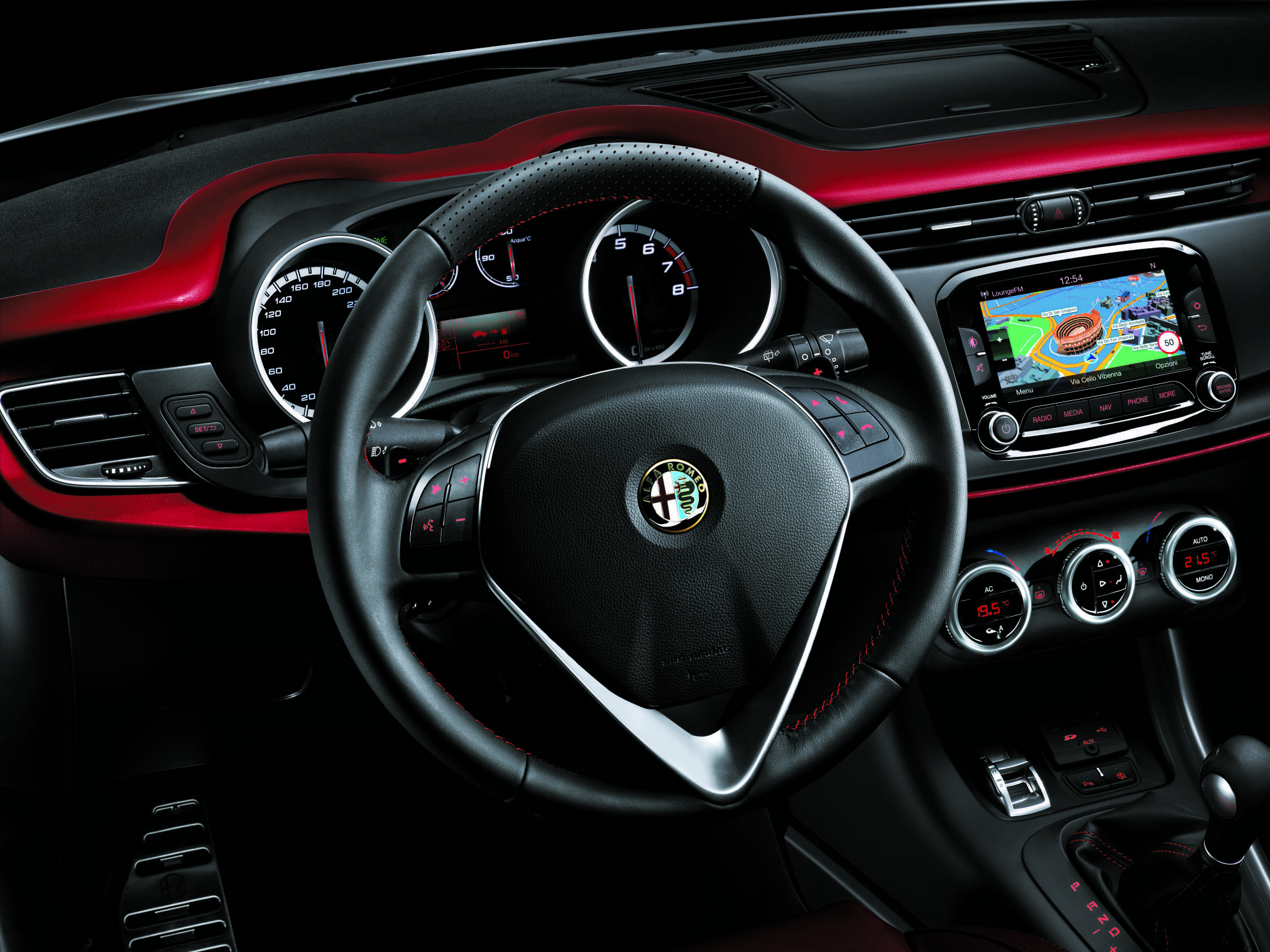 #AlfaRomeo #Giulietta #Cockpit #Innenraum #Interieur #Lenkrad #Alfisti