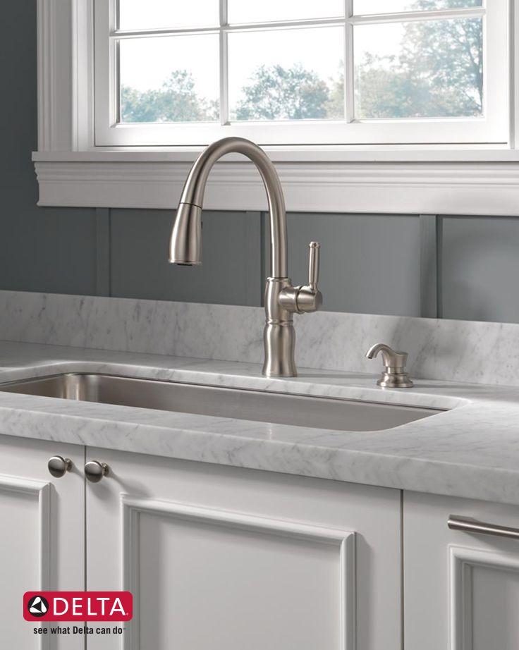 kitchen faucet delta faucets