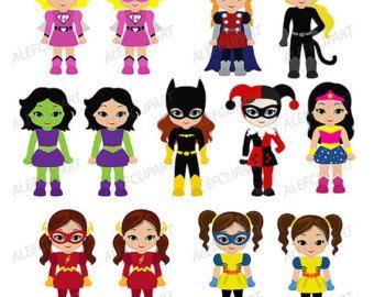 super girls bd fille fille super super hros clipart par dtaiez - Super Heros Fille