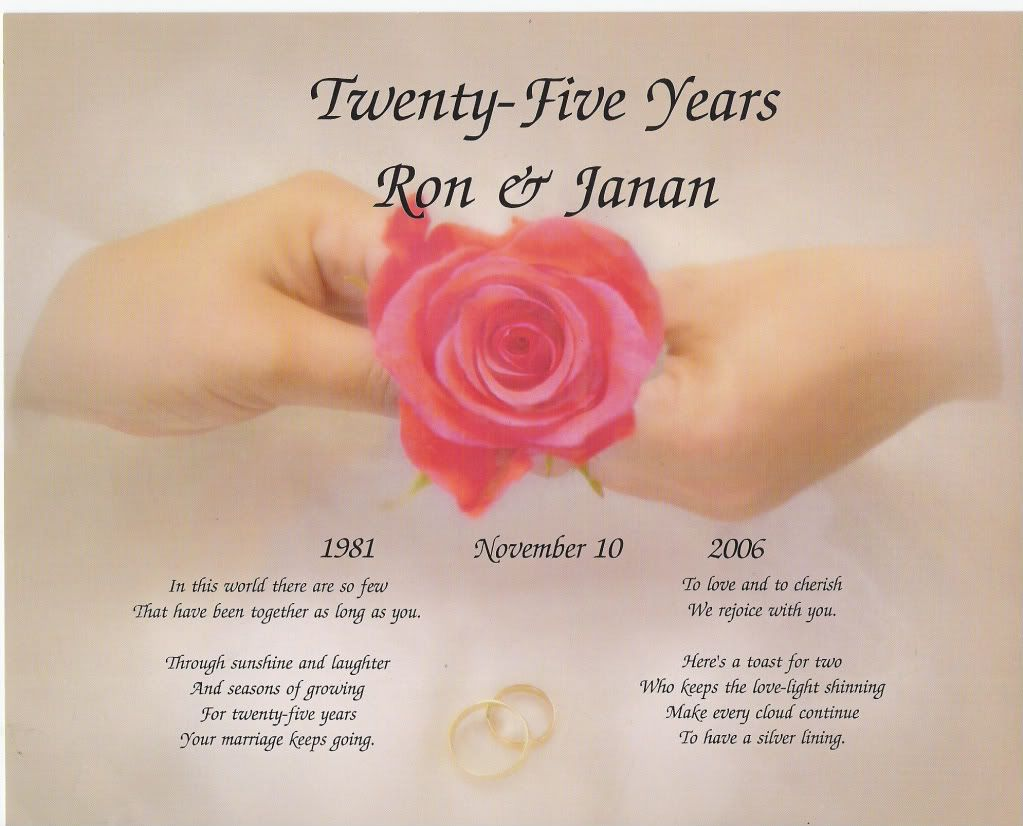 Silver Wedding Anniversary Quotes Th All