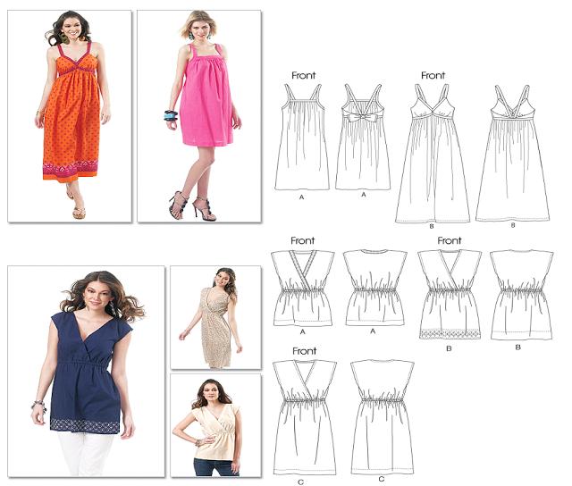MANITAS CREATIVAS Y ALGO MAS: Corte y confeccion -Ideas de vestidos