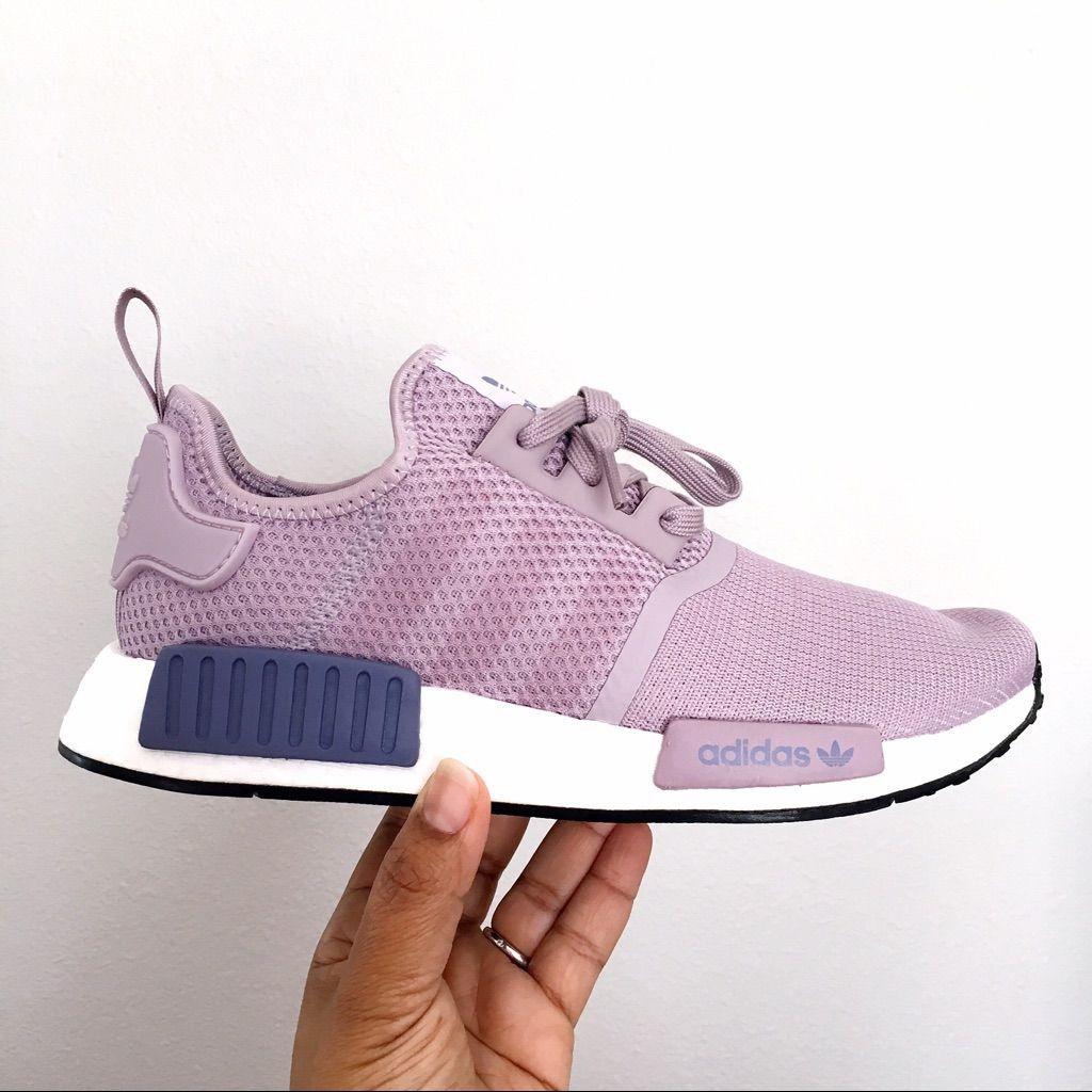 adidas Shoes | Adidas Nmd R1 Womens Purple Running Shoes