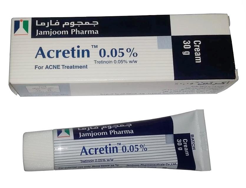Acretin 0 05 Tretinoin Cream Tretinoin Tretinoin Cream Retinoid