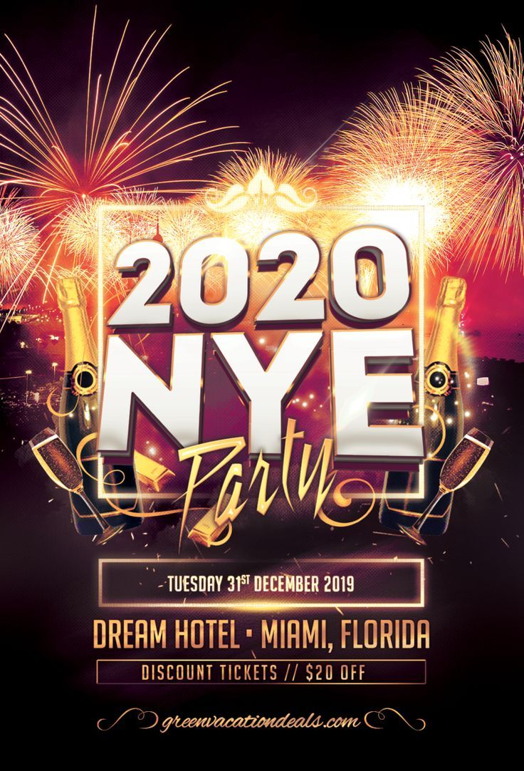 New Year's Eve 2020 at Highbar at the Dream Hotel in Miami