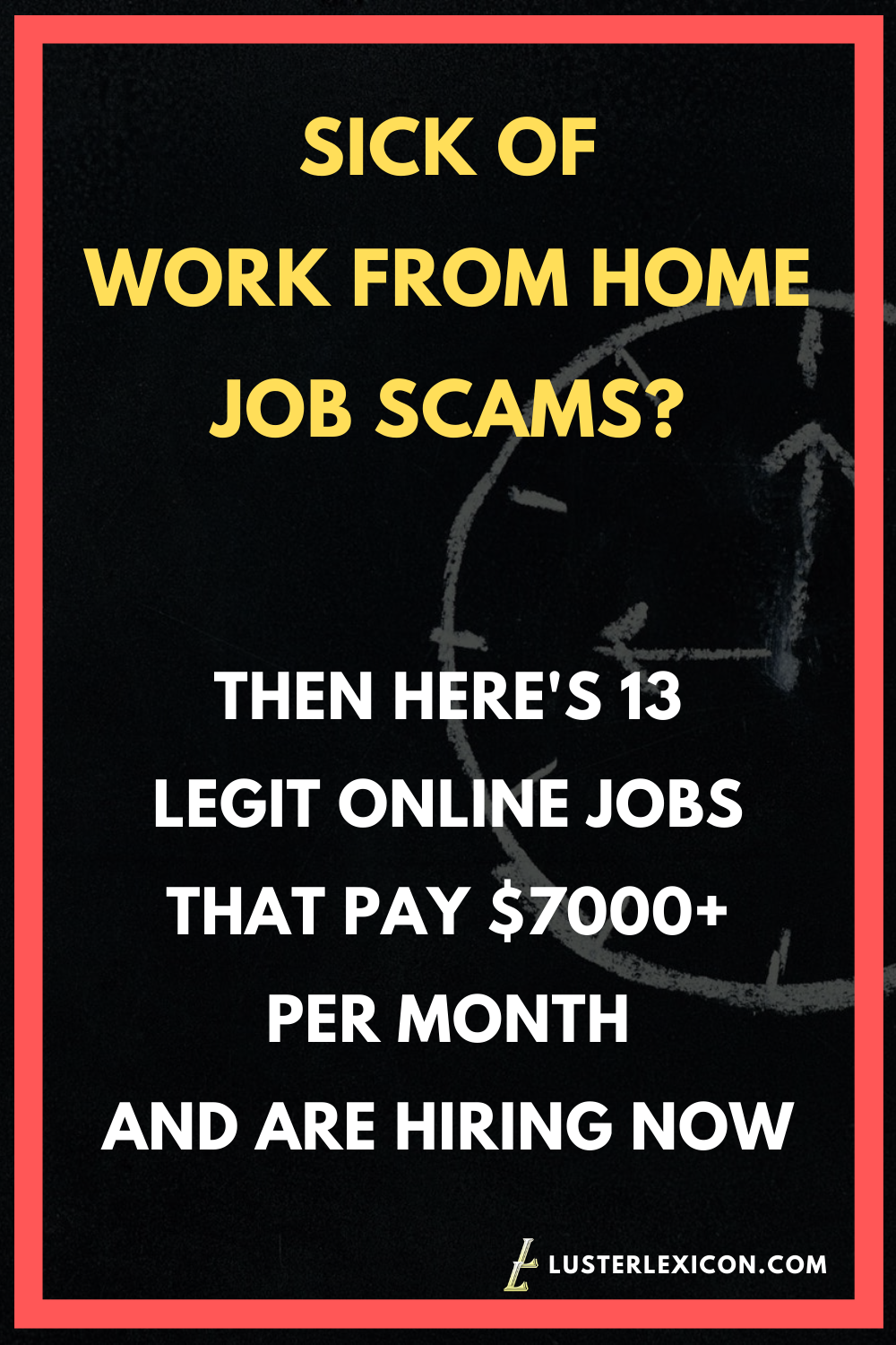 13 LEGIT ONLINE JOBS THAT PAY $7000+ PER MONTH AND