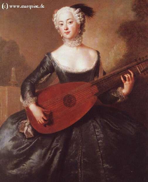Eleonore Freifrau von Keyserlingk, 1745