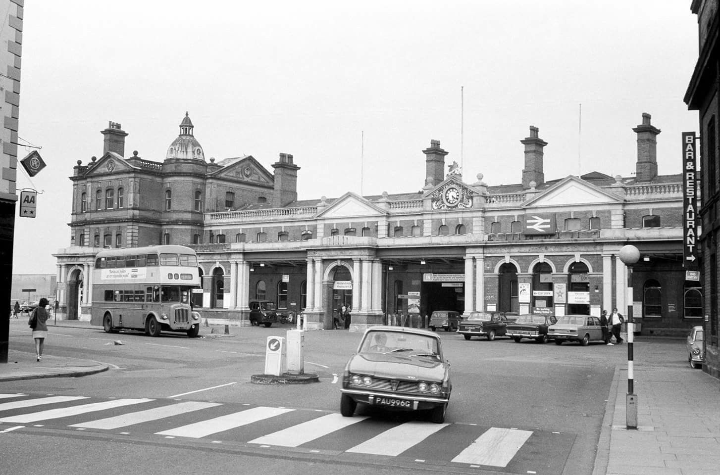 Derby Railway Station 1970s Ciudades Siglo Xix Industrial