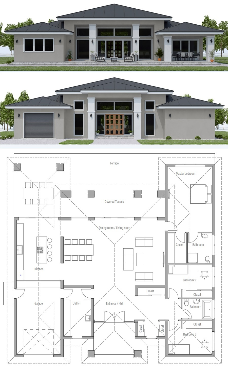 House Plan Ch569 New House Plans House Plan Gallery House Projects Architecture