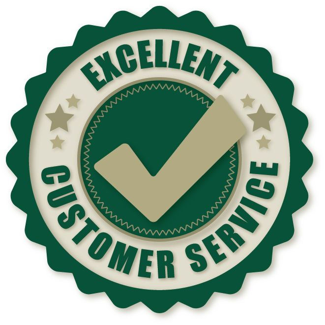 Excellent customer service is our utmost priority! Here are some - excellent customer service