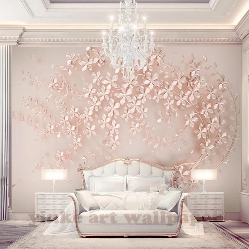 Best Rose Gold 3D Wallpaper In 2020 Wallpaper Decor Gold 400 x 300