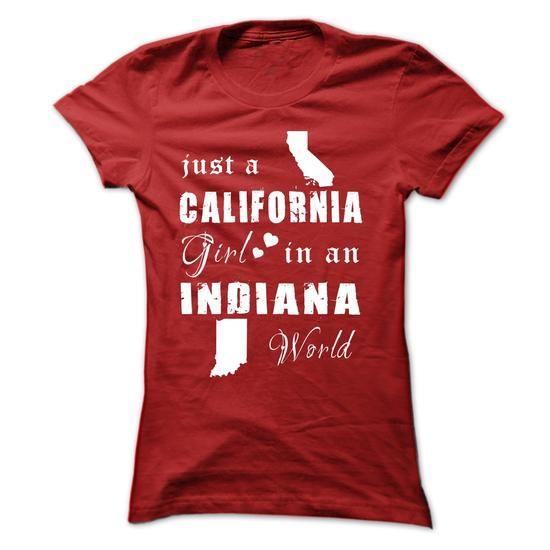 CALIFORNIA GIRLS IN INDIANA - #sweatshirt refashion #crewneck sweatshirt. LIMITED TIME => https://www.sunfrog.com/States/CALIFORNIA-GIRLS-IN-INDIANA-Red-15397385-Ladies.html?68278