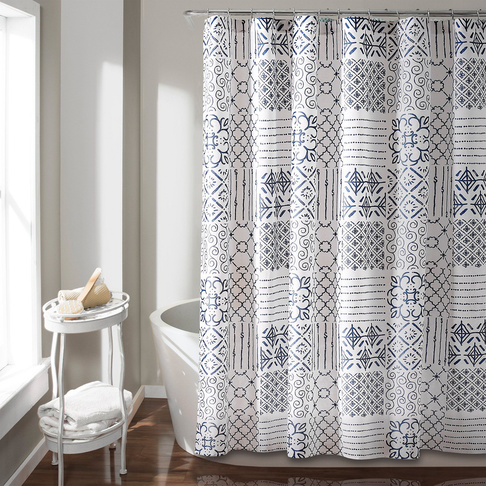 Lush Decor Monique Shower Curtain In 2020 Curtains Colorful