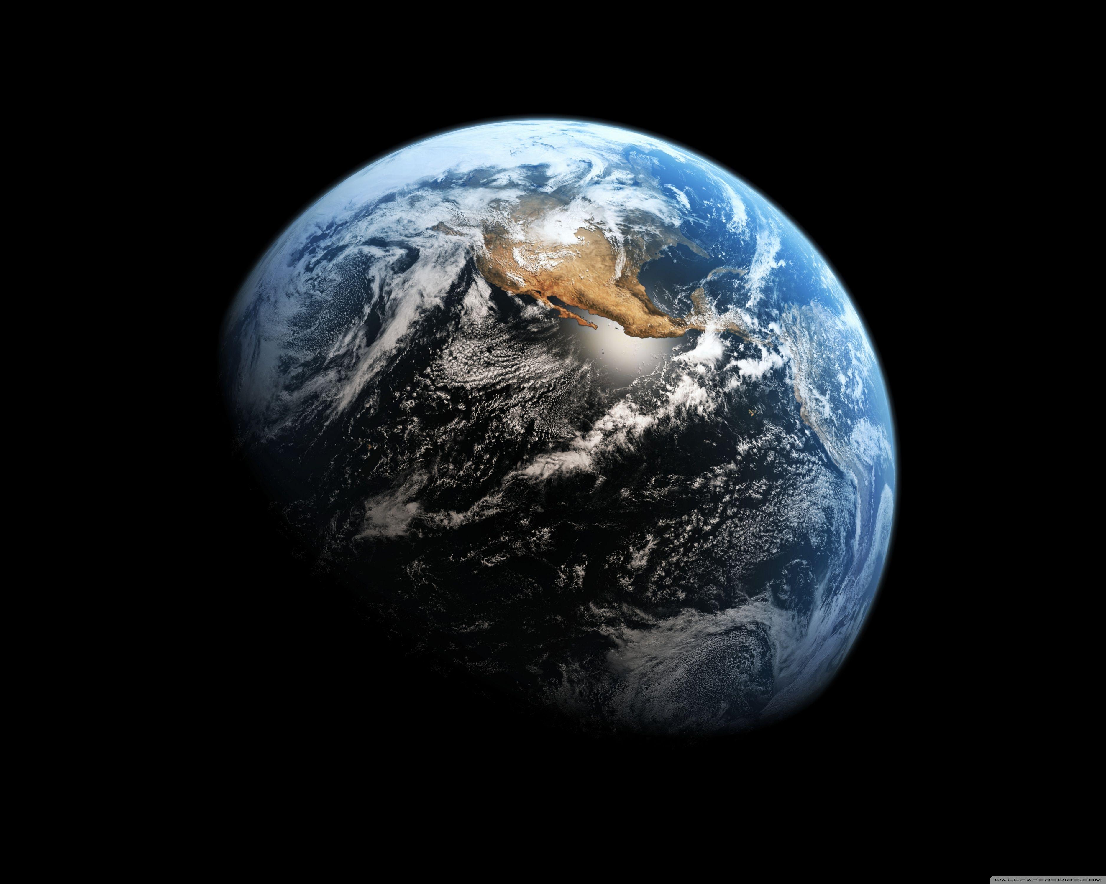 use wallpaper clocks live earth wallpaper in ubuntu with