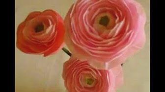 Diy how to make paper persian buttercup hoa mao luong giay nhun diy how to make paper persian buttercup hoa mao luong giay nhun youtube mightylinksfo