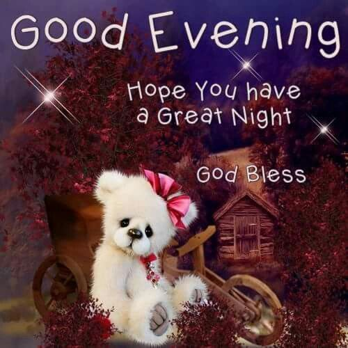 good evening hope you have a great night god bless good evening good evening quotes evening quotes good evening images