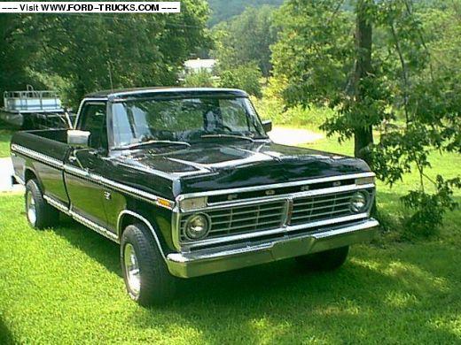 1976 f150 I had a hood scoop on mine Ford trucks, Ford