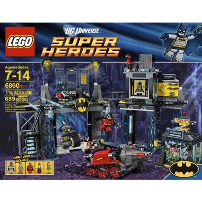 LEGO Super Heroes The Batcave 6860 : Target | Drew christmas ...