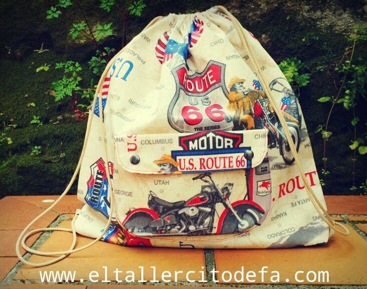 Mochila impermeable by www.eltallercitodefa.com