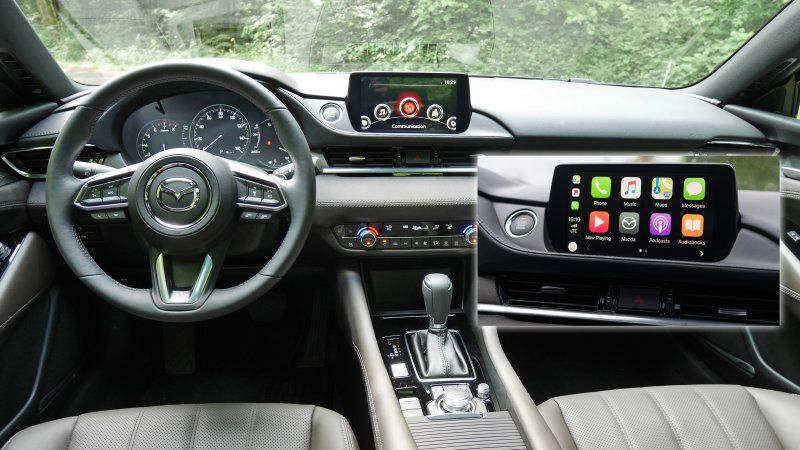 2018 Mazda 6 Can Be Upgraded With Apple Carplay Android Auto In September Mazda 6 Mazda Apple Car Play