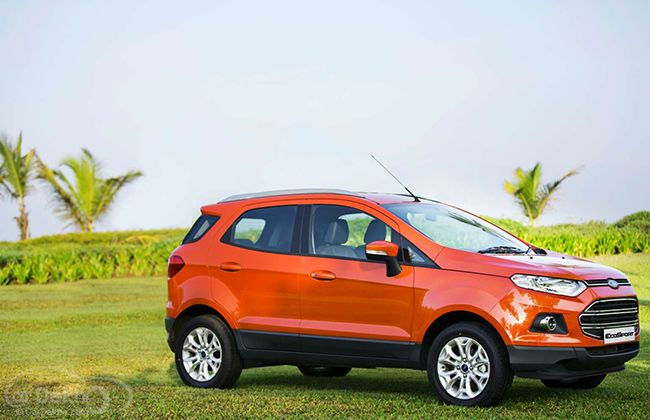 Ecosport Help Ford India To Record Best Ever Sales Ford Ecosport