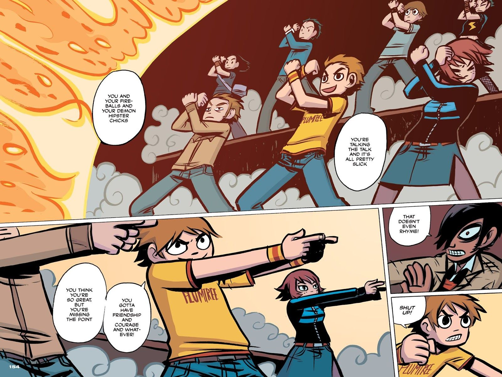 Pin By Paranoia S Alive On Scott Pilgrim Grafica Scott Pilgrim
