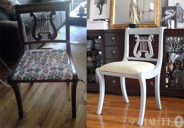 Dining Chairs, Chair Makeover, Chair