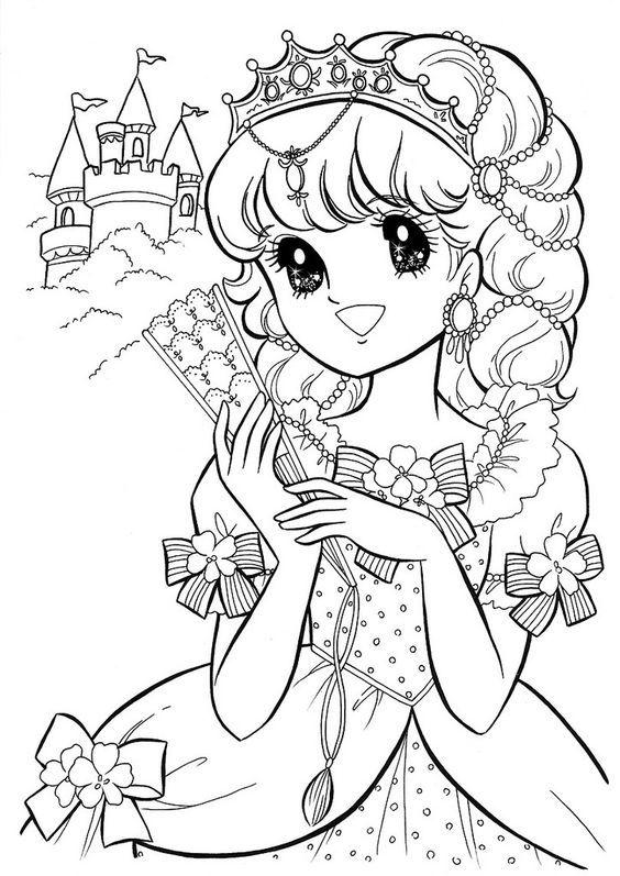 Черно белые картинки раскраски принцессы