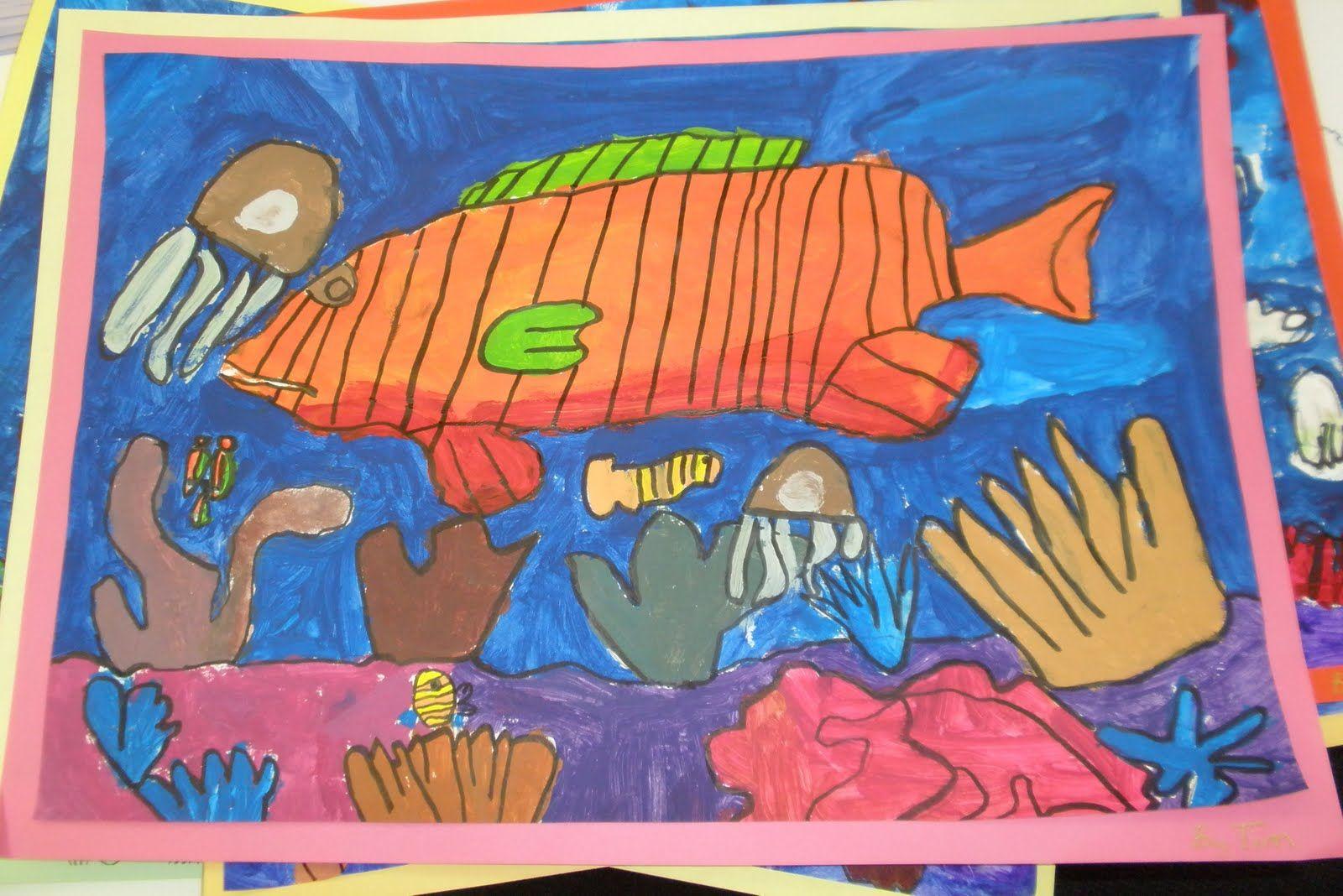 Great Barrier Reef Paintings