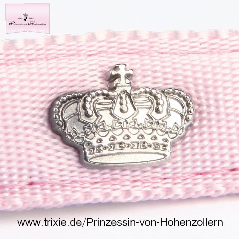 Halsband für Hundeprinzesinnen! By Maja Prinzessin von Hohenzollern/Trixie. Mit dem Kauf unterstützen Sie den Tierschutz! http://www.tiierisch.de/produkt/hundehalsband-dog-princess