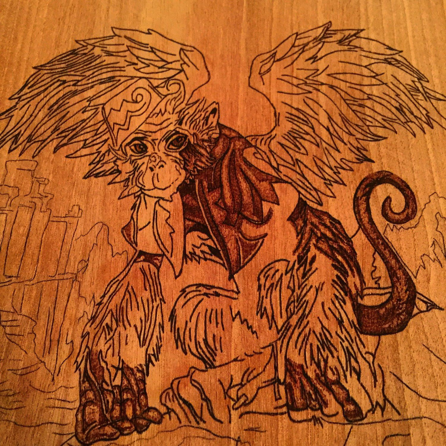 One of our woodburning art pieces in the works