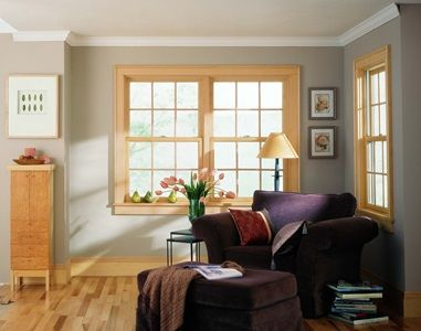 200 Series Double Hung Windows Contemporary Home Decor Living