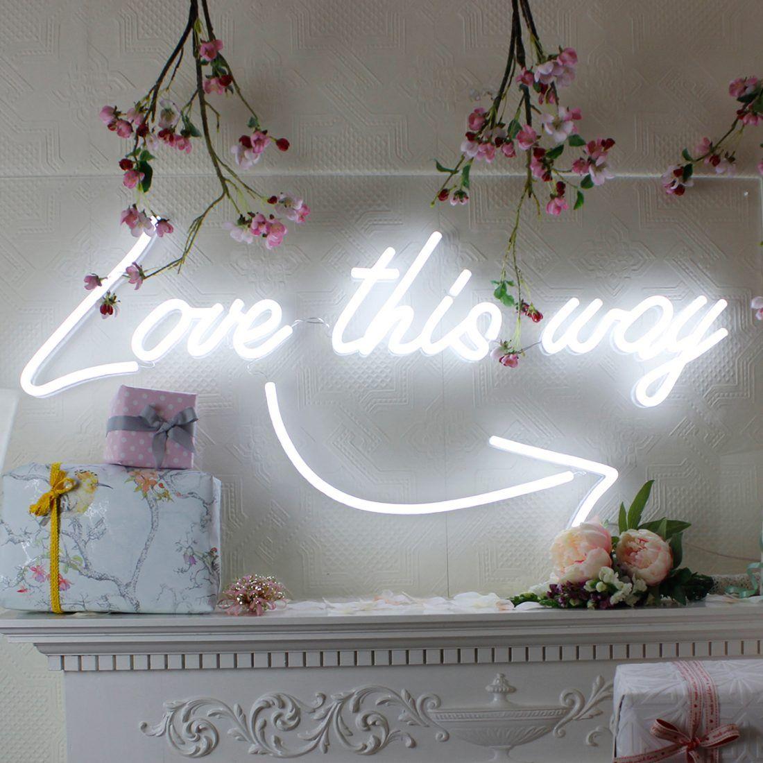 Buying & Hiring Neon Lights for your Wedding Neon
