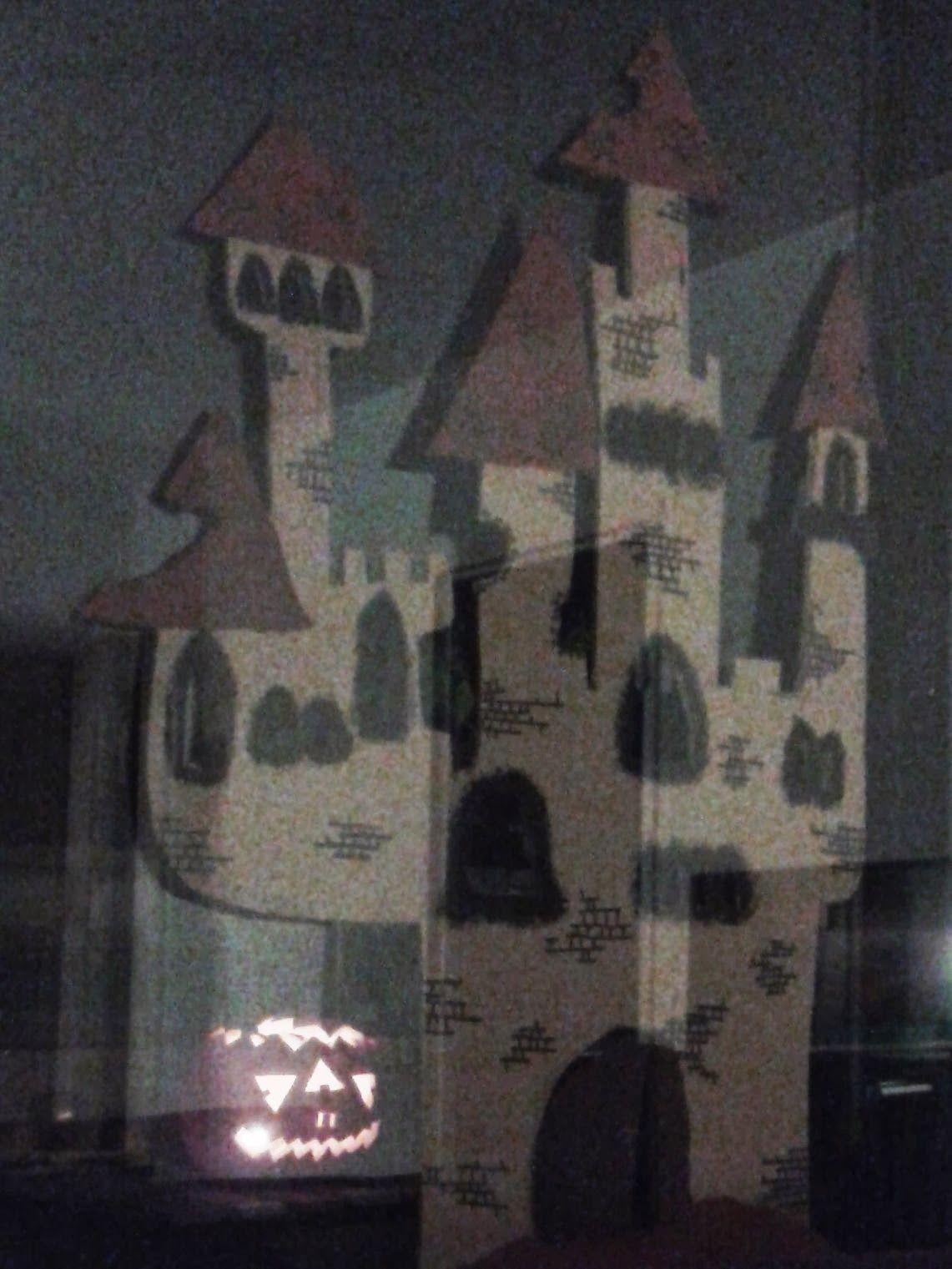 Bazooka Crafts 12 Days of Halloween 3 Eyed Carved Pumpkin