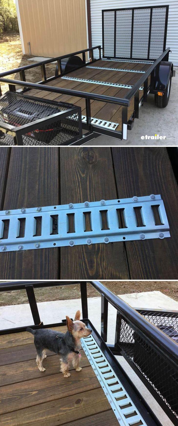 Erickson Horizontal ETrack Zinc Plated Steel 2,000