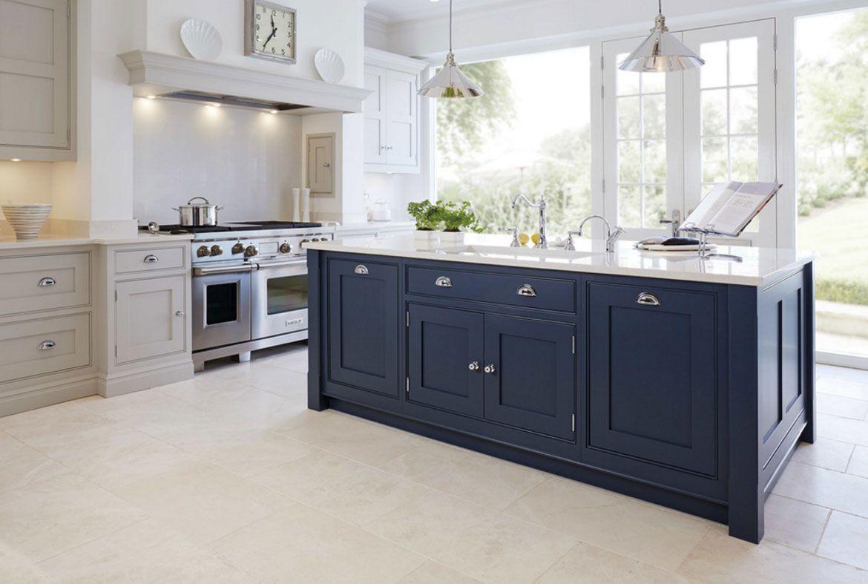 Design Trend Blue Kitchen Cabinets 30 Ideas To Get You Started Kitchen Design Kitchen Inspirations Kitchen Trends Dark blue grey kitchen cabinets