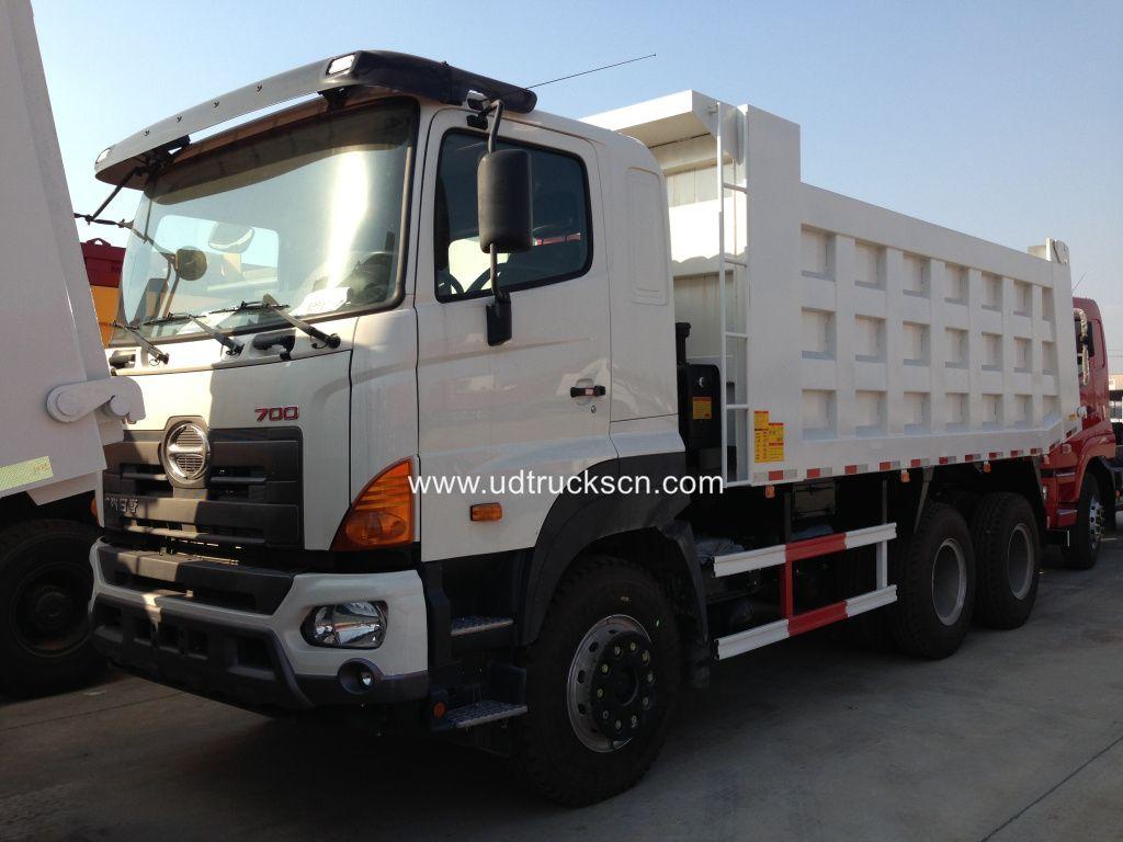 Mercedes benz 609 dump trucks for sale tipper truck dumper tipper - Hino700 6x4 Dumper Trucks Tipper Truck Exporter