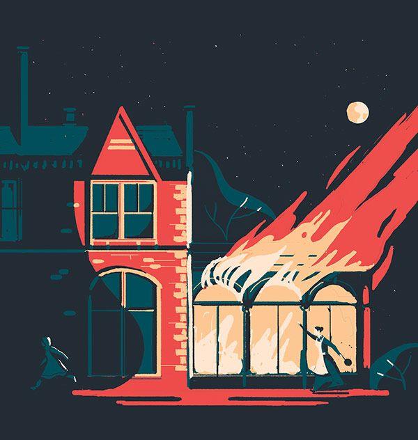 Book cover illustration by Tom Haugomat.