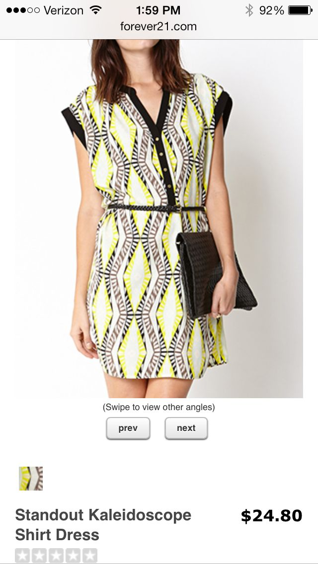 Adorable white and black dress at delias