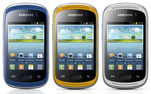 official samsung galaxy music duos gt s6012 android smartphone rh pinterest com