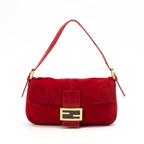 Fendi Mamma Baguette currently on sale at LXR & Co.
