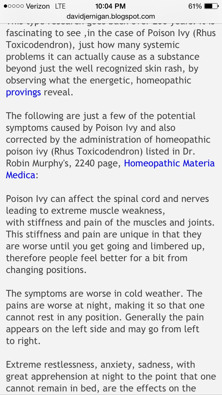 Poison ivy systemic problems | Health | Poison ivy, Ivy, Health