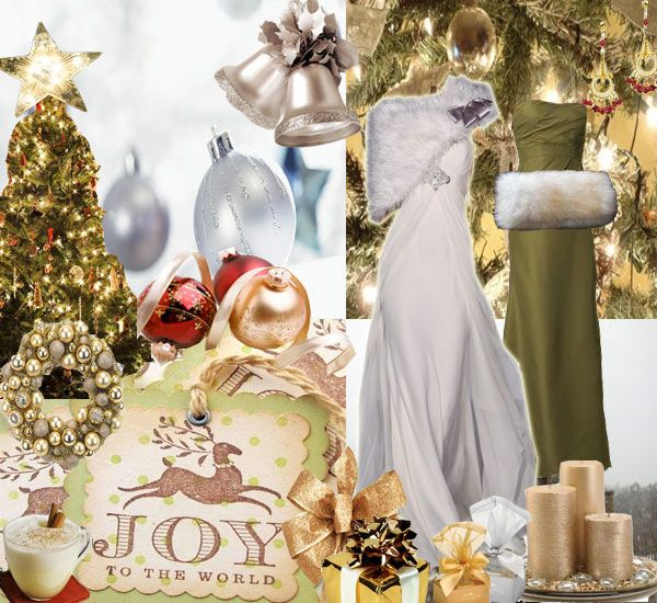 Bride Ideas Christmas Wedding Ideas COLOUR PALLETS Pinterest