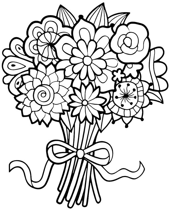Tremendous Flower Coloring Sheets Haramiran in 2020