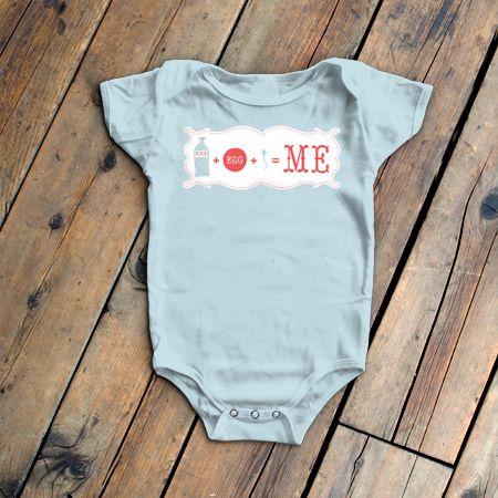 Image of Baby's First Math Onesie