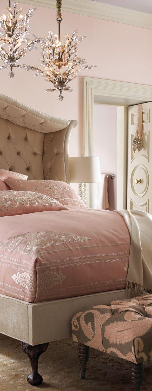 glam feminine bedroom Modern Glam Decor & Glamorous Decorating Ideas   MODERN