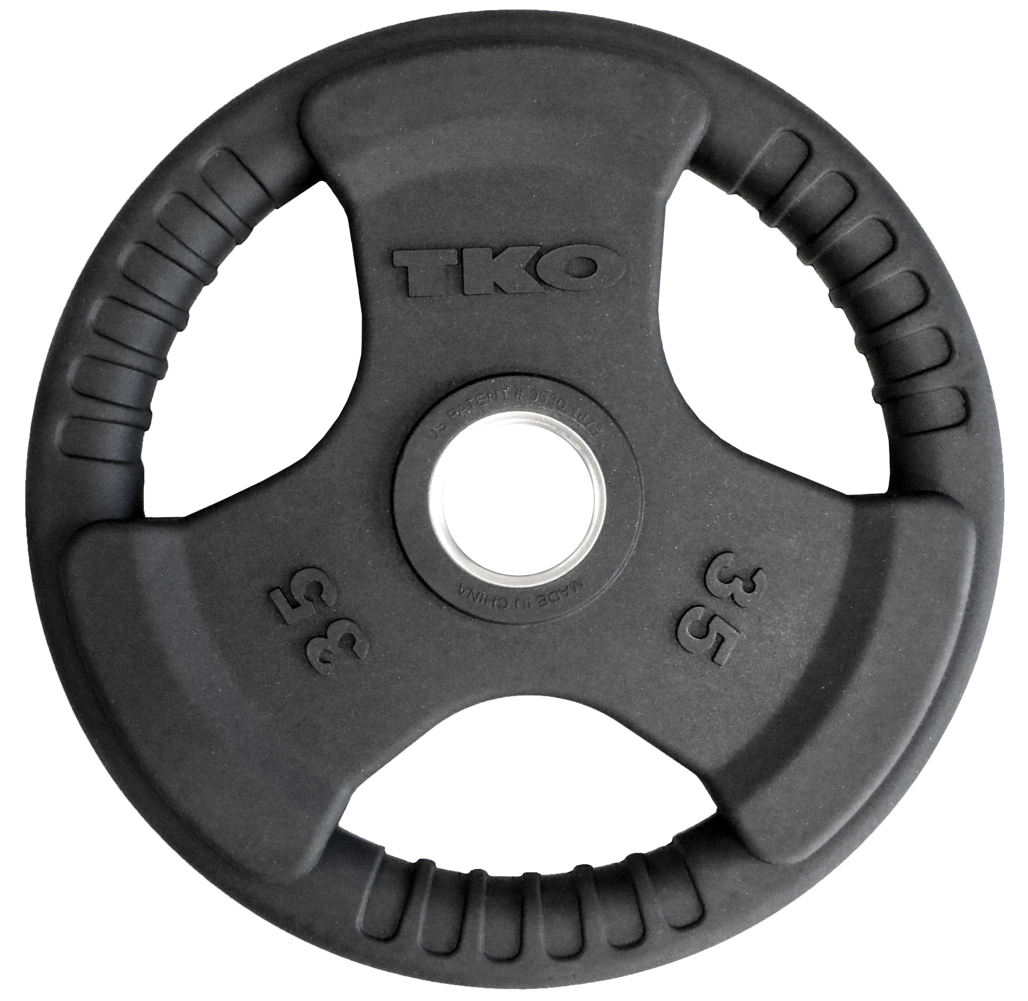 TKO OLYMPIC RUBBER TRI GRIP PLATES (With images)